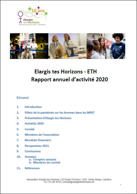 ETH Rapport activite 2020