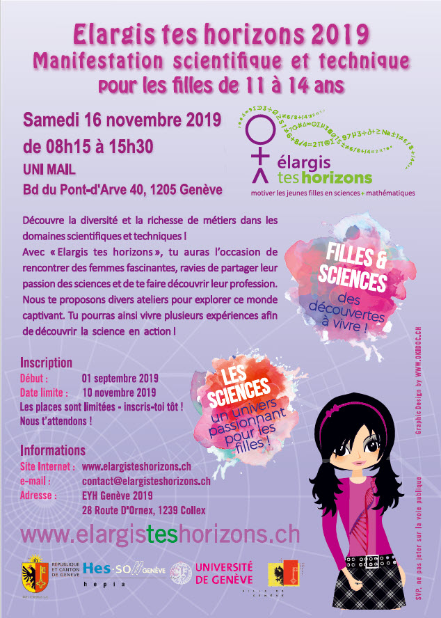 ETH 2019 Flyer Evenement Biennal